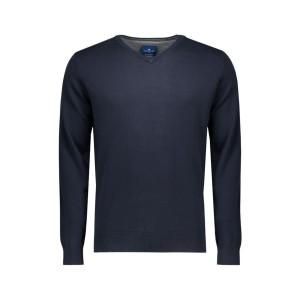 Tom Tailor V-hals pullover donkerblauw €29,99