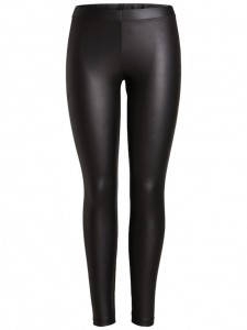 Pieces shiny legging zwart €19,99
