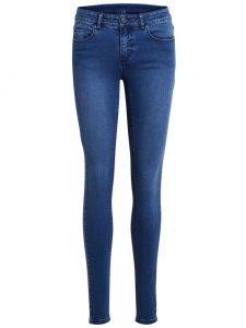 Vila vicommit slim medium bl denim €39,99 2 voor €69,95