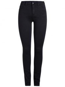 Pieces five betty soft jeans black €34,99