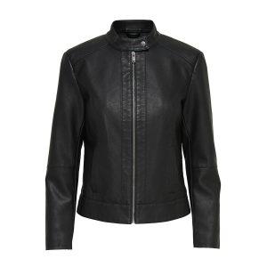 JDY dallas leather jacket black €29,99