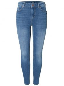 Pieces delly crop split denim €39,99 2 voor €69,99