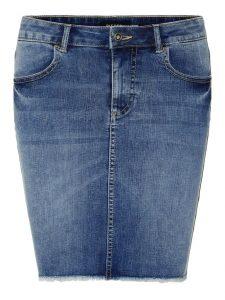 Pieces light blue denim skirt €34,99