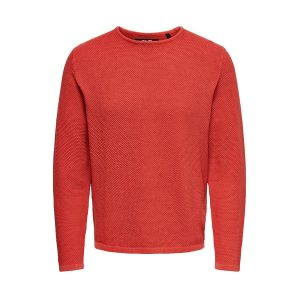 Only & Sons pullover aura orange €39,99