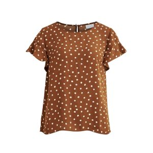 Vila viluchy top toffee €34,99