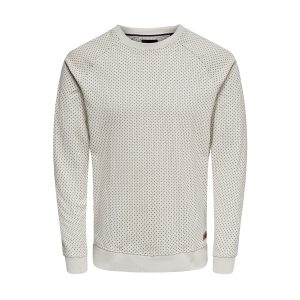 Only & Sons sweater licht grijs €34,99