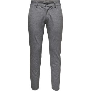 Only & Sons chino pantalon medium grey melange €39,99