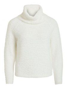 Vila col pullover white €34,99