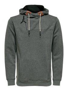 Only & Sons hoodie dark grey melange €39,99