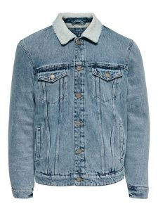 Only & Sons teddy denim jacket €69,99