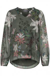 B.young blouse bloemen groen €39,95