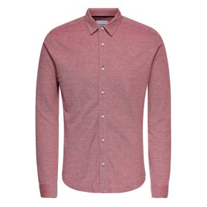 Only & Sons blouse pompeian red €34,99