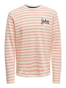 Only & Sons sweater hot coral €34,99