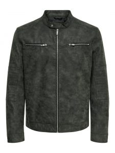 Only & Sons faux suede jacket phantom €59,99