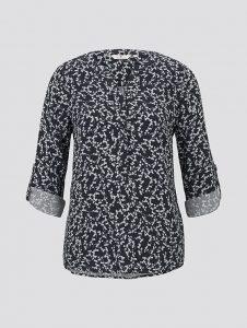 Tom Tailor blouse blauw bloem €39,99