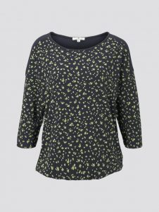 Tom Tailor top blauw €29,99