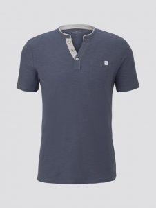 Tom Tailor t-shirt grijs/blauw €19,99