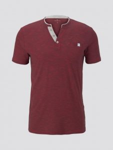 Tom Tailor t-shirt rood €19,99