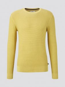 Tom Tailor pullover geel €49,99