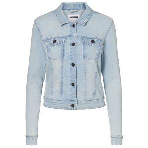 Noisy May spijkerjasje light blue denim €29,99
