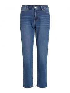 Vila straight fit jeans med blue €49,99