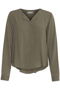 Fransa blouse olive €29,99