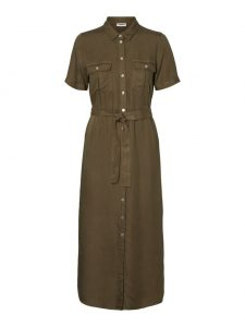 Noisy May dress tencel olive €49,99