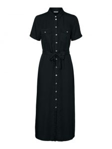 Noisy May dress tencel black €49,99