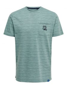 Only & Sons t-shirt groen €19,99