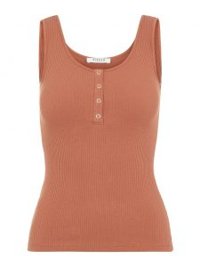 Pieces singlet copper brown €14,99