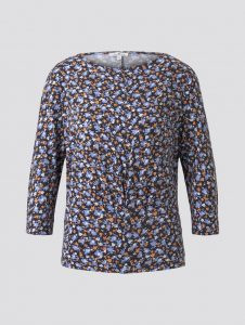 Tom Tailor top blauw bloemenprint €35,99
