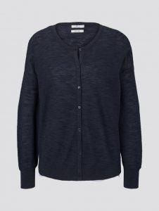 Tom Tailor vest donkerblauw €49,99