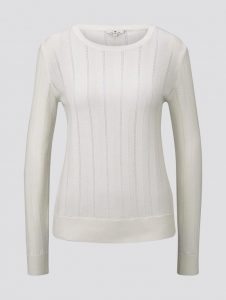 Tom Tailor pullover off white €39,99
