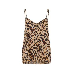 Pieces singlet leopard €19,99