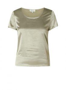 Ivy Beau t-shirt satijn groen €29,95