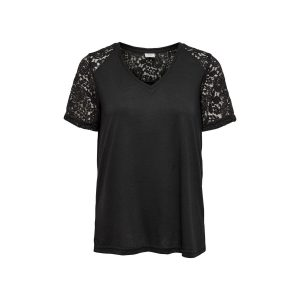 JDY lace top black 14,99