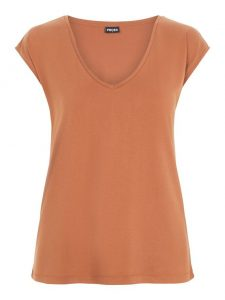 Pieces kamala t-shirt mocha bisque €19,99