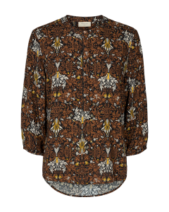 Freequent adney blouse bruin €29,95