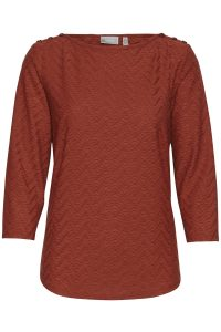 Fransa pullover roest €29,99