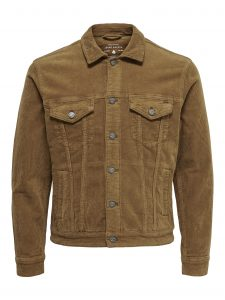 Only & Sons coin corduroy jacket monks robe €49,99