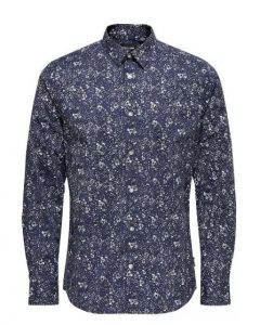Only & Sons overhemd blauw €34,99