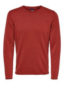 Only & Sons pullover garson sundried tomato €26,99