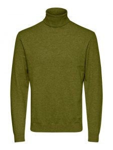 Only & Sons col pullover mikkel fir green €34,99