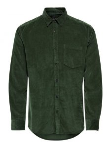 Only & Sons corduroy blouse deep depths €39,99