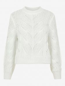 Pieces pullover rachel off white €26,99