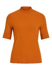 Vila visollita shirt pumpkin spice €16,99