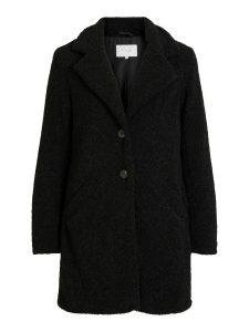 Vila viliosi teddy jacket black €59,99