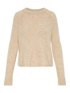 Pieces ellen pullover white pepper €29,99