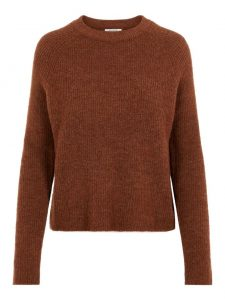 Pieces pullover ellen mocha bisque €29,99