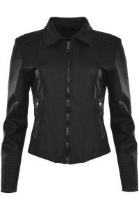 Maicazz blazer zwart gecoat €89,99